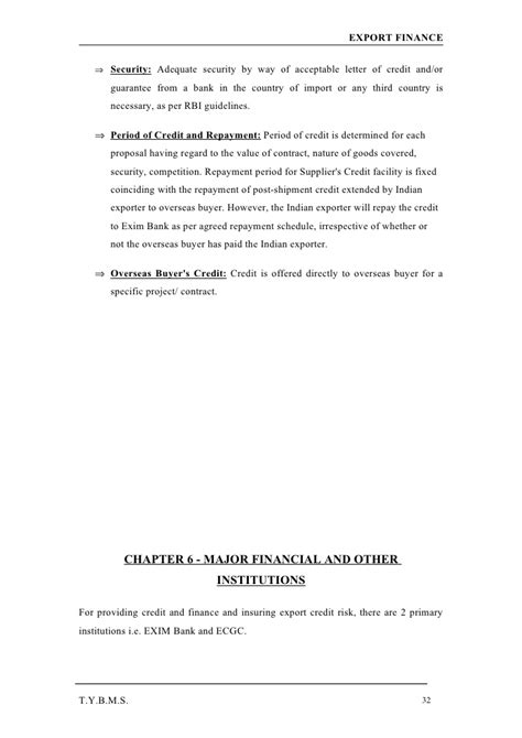 Credit Request Letter To Supplier export finance hdfc bank