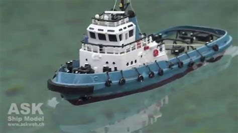 sleepboot smit nederland rc boat smit netherland tiny tug boat youtube
