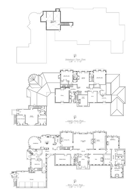 real floor plans grand estate in montecito suzanne perkins