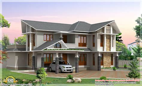 2 floor house double floor house