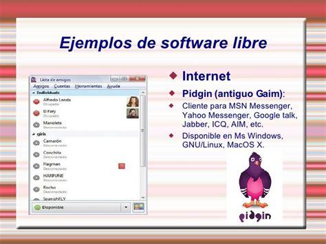 imagenes de software libres present ntic del software libre