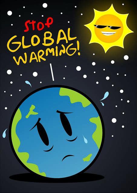 cara membuat poster global warming contoh poster global warming dan hemat energi bercerita