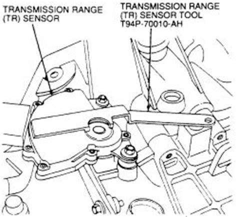 old car owners manuals 1999 ford contour transmission control repair guides automatic transaxle manual lever position switch transmission range sensor