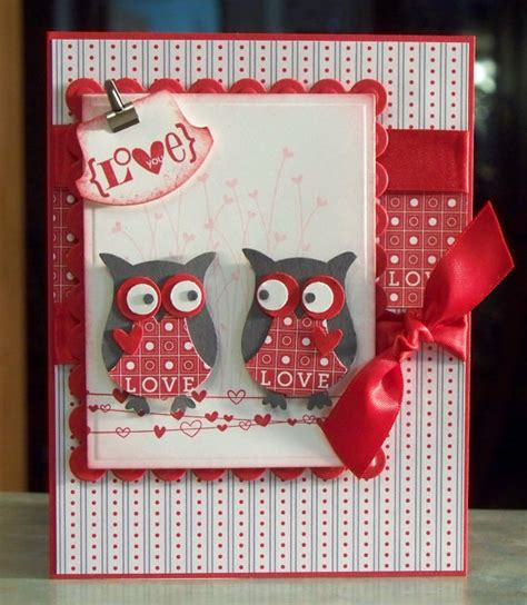 Handmade Valentines Cards - handmade valentines day or anniversary card stin up