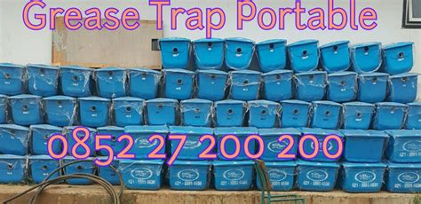 Grease Trap Igt 30 Portable Wakastore grease trap harga grease trap jual grease trap