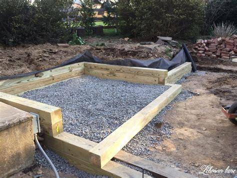 building  wood retaining wall lehman lane