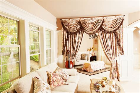 valance curtains for living room with cello