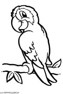 free coloring pages dibujos pericos