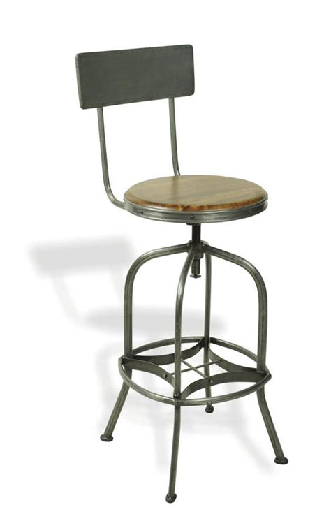 reclaimed wooden top bar stool by cambrewood