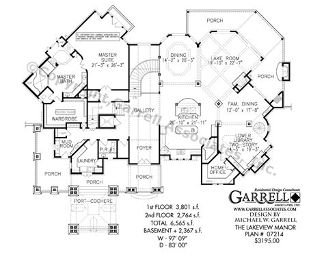 rear view house plans lakefront cabin cottage home designs house plans rear view