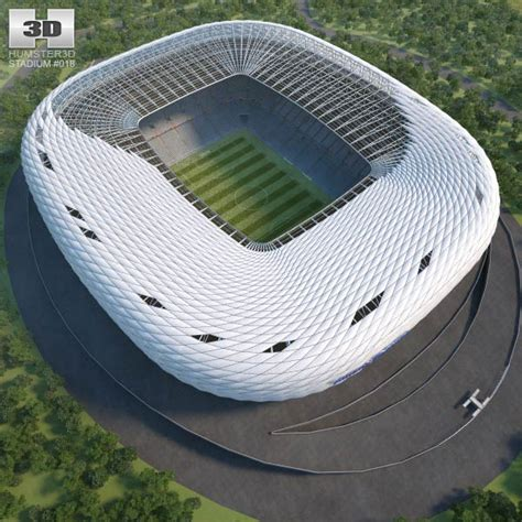 Arena 3d Model allianz arena 3d model hum3d