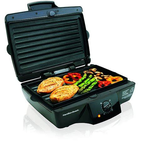 Grill Re by Hamilton 185 Quot Indoor Grill With Re Walmart