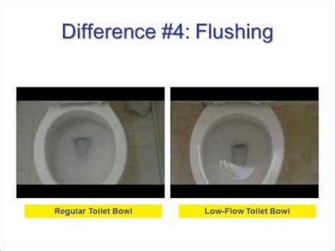 Difference Between Water Closet And Lavatory by Low Flow And Regular Toilets The Differences Revealed