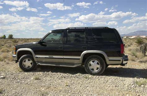 Chevy Tahoe 98 by 1998 Chevrolet Tahoe Information And Photos Zombiedrive
