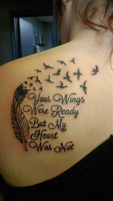 feather tattoo your wings were ready your wings were ready tattoo ideas pinterest