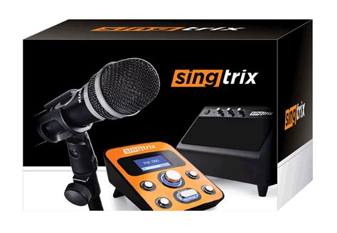 Singtrix Karaoke Machine W by Note Mic Input 2 Does Not Offer Live Harmony Or Pitch
