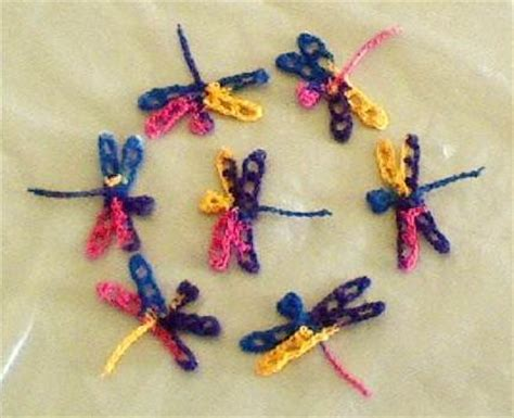 pinterest dragonfly pattern kk crocheted tiny dragonfly free crochet pattern for