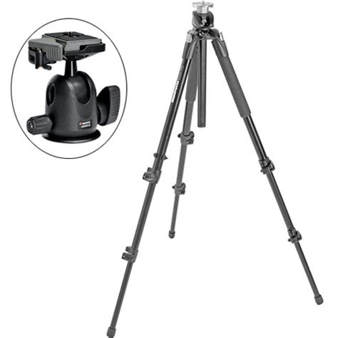 Tripod Manfrotto 190 X manfrotto 190xprob pro tripod with 496rc2 kit b h