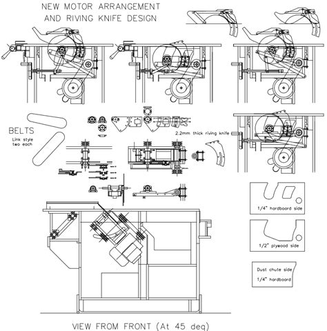 hector s table saw riving knife woodworking pinterest