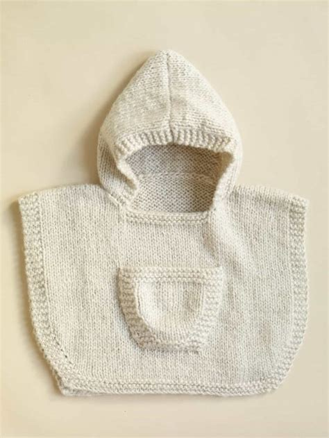 free knitting pattern baby poncho knitted hooded baby poncho pattern free the whoot
