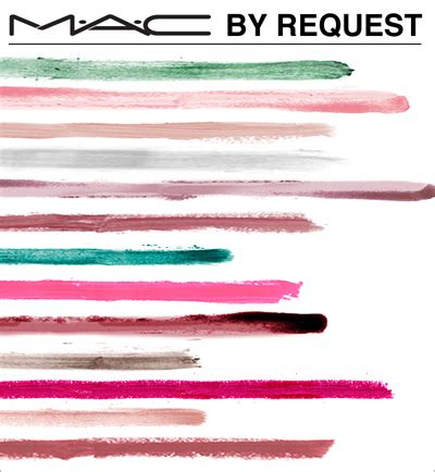 Lipstick Line mac debuts by request line secrets of a