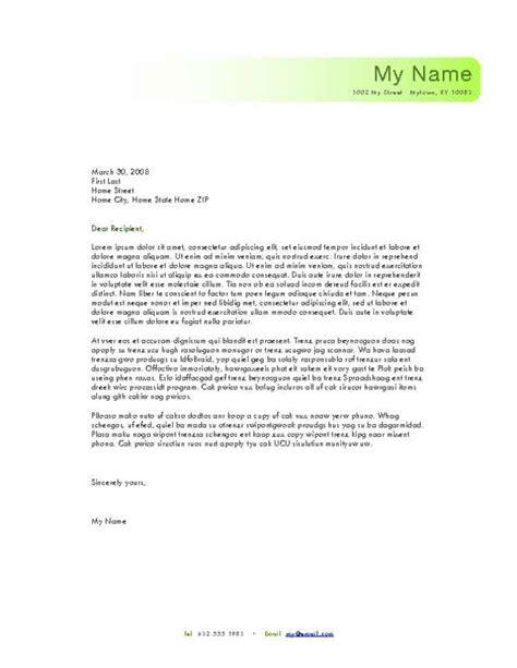 personal letterheads  printable letterhead