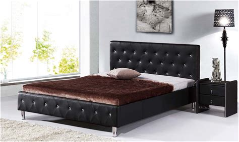 queen size bed cheap cheap pu leather queen size bedroom furniture quot diamond quot head