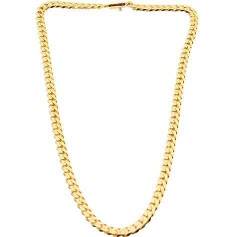 veritas aequitas veritas cuban necklace gold