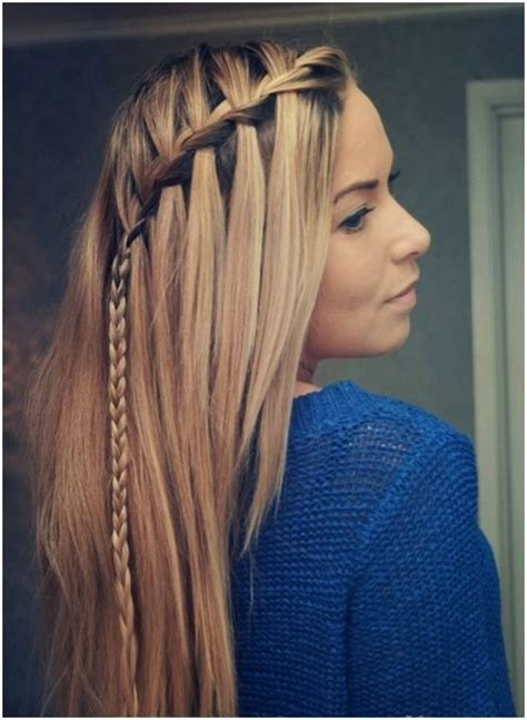 Easy And Quick Hairstyles For Long Straight Hair | hairstyles ideas trends good fashion cute hairstyles for