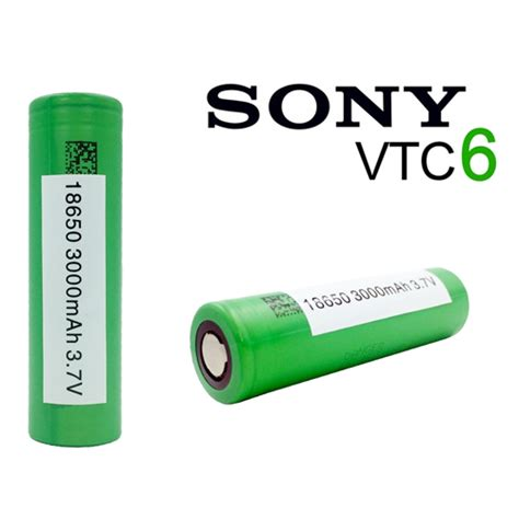 Battery Vtc 6 Original 3000mah 2 x sony inr18650 vtc6 3000mah battery free plastic storage uk vape