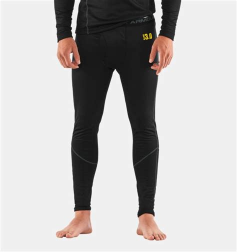Celana Mens Legging Armour Black s ua base 3 0 baselayer armour us