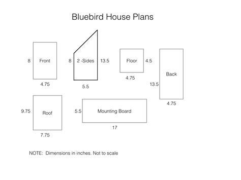 Make A Bluebird House How To Build A Bluebird House Plans