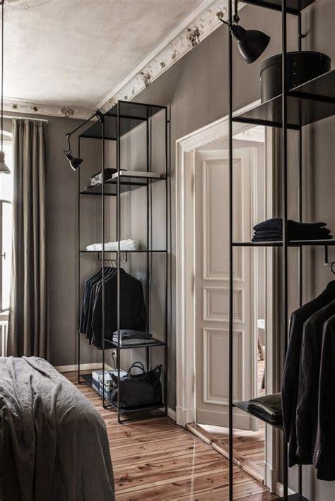 open bedroom closet design 25 best ideas about metal shelves on pinterest metal