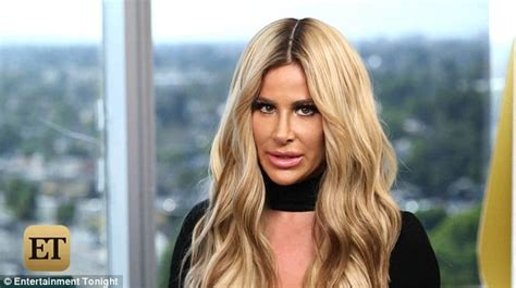 what wig does kim zolciak wear kim zolciak again denies she s had a nose job but says she