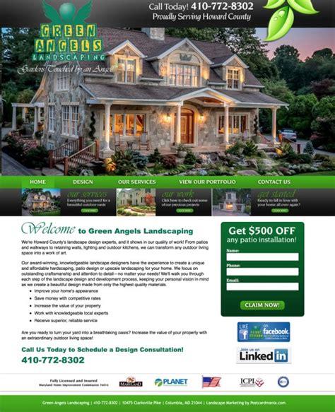 landscape design website landscape websites design images