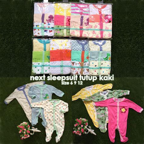 Sleepsuit Next 3in1 Baju Terusan Bayi Tutup Kaki 2 grosir sleepsuit next baju tidur bayi hatibunda
