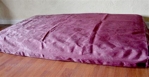 how to make a crib mattress from crib mattress to bed with no sew diy cover