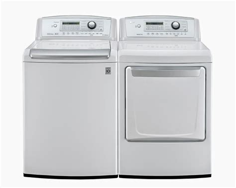 lg washer and dryer reviews: lg top load washer and dryer