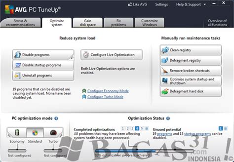 bagas31 tuneup utilities avg pc tuneup 2012 full patch bagas31 com