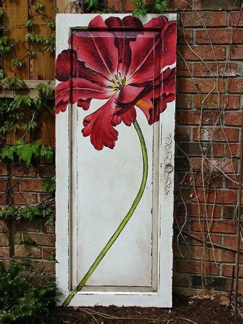 Salvaged French Doors - old doors re use cool decoration and diy furniture interior design ideas avso org
