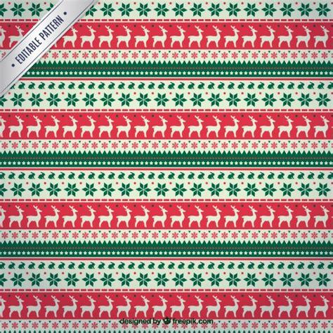 christmas patterns year 1 christmas reindeers pattern vector free download