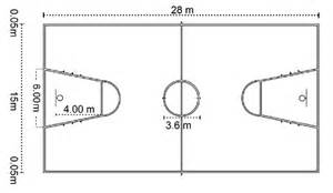 Basketball Hoop Backyard by Basketball Court Standard Sizes Pictures To Pin On Pinterest