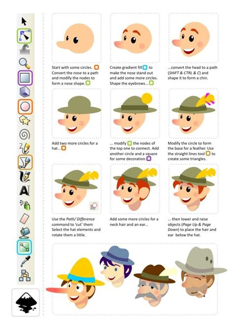 inkscape tutorial character 2d game art for programmers creating a game character