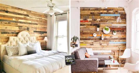 rivestire una parete in legno rivestire una parete coi pallet 17 idee da cui trarre