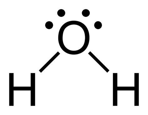 dot diagram for h2o chemestry 11 lessons june 2011