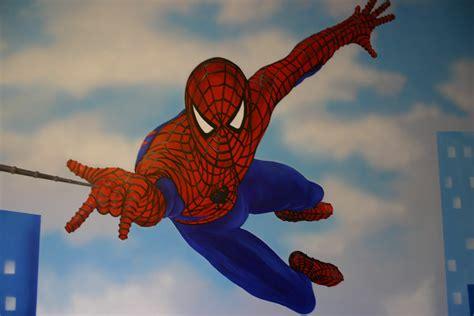 Spiderman Wall Murals mural designs quot the muralist quot spiderman wall mural
