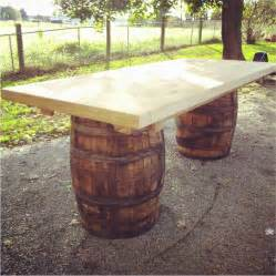 Wine Barrel Dining Table Wine Barrel Tables Goenoeng