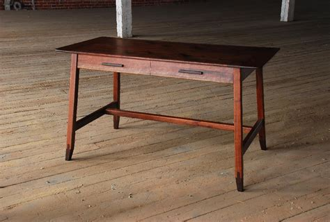 sawhorse writing desk finewoodworking