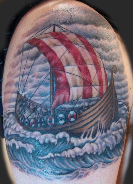viking ship tattoo 1000 images about viking tattoos on viking