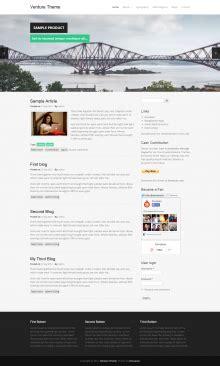 drupal themes community venture theme drupal org